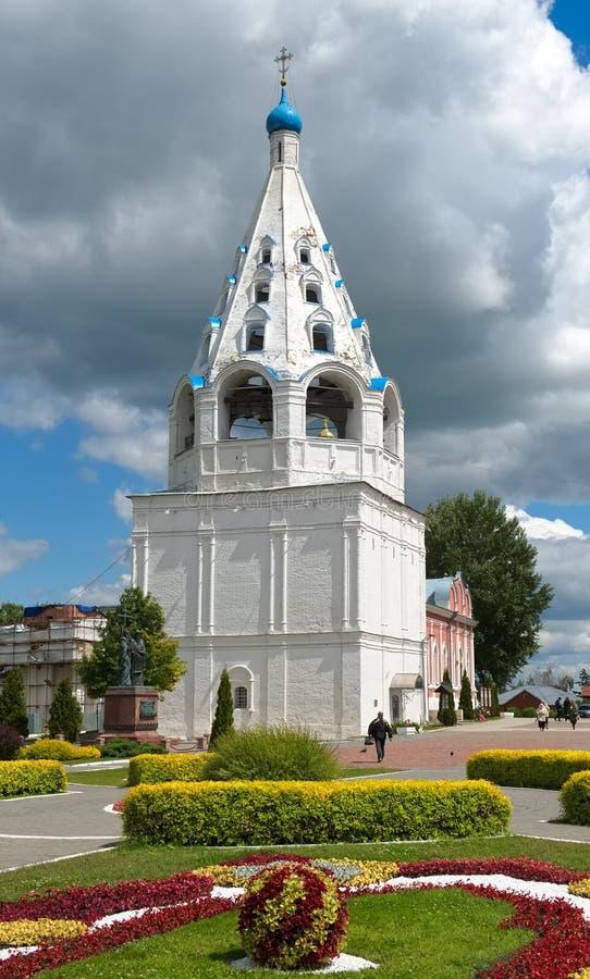 Glockenturm der Annahme-Kathedrale lizenzfreie stockfotos