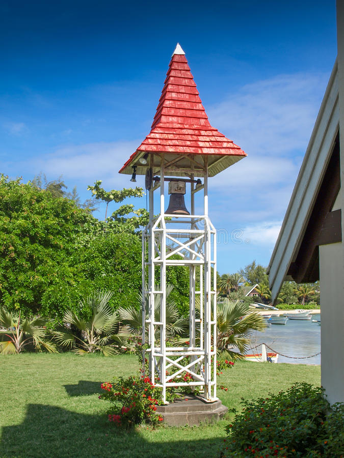 Glockenturm in der Kappe Malheureux lizenzfreie stockfotos