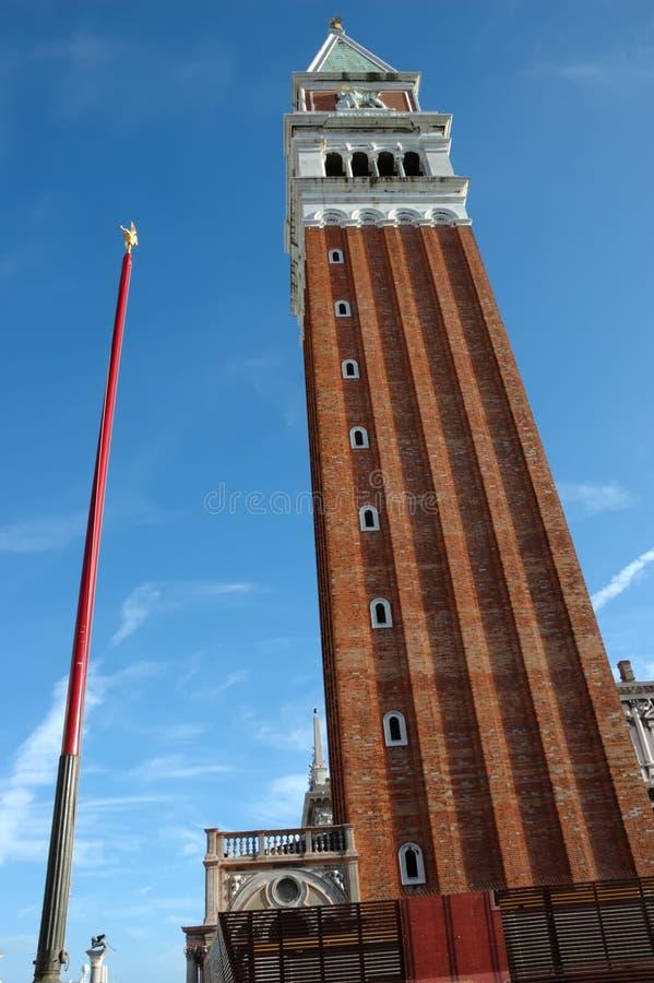 Glockenturm der Str.-Markierung lizenzfreies stockfoto