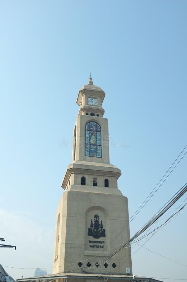 Glockenturm des KEINES Chatuchak-Wochenenden-Marktes 2 lizenzfreie stockbilder