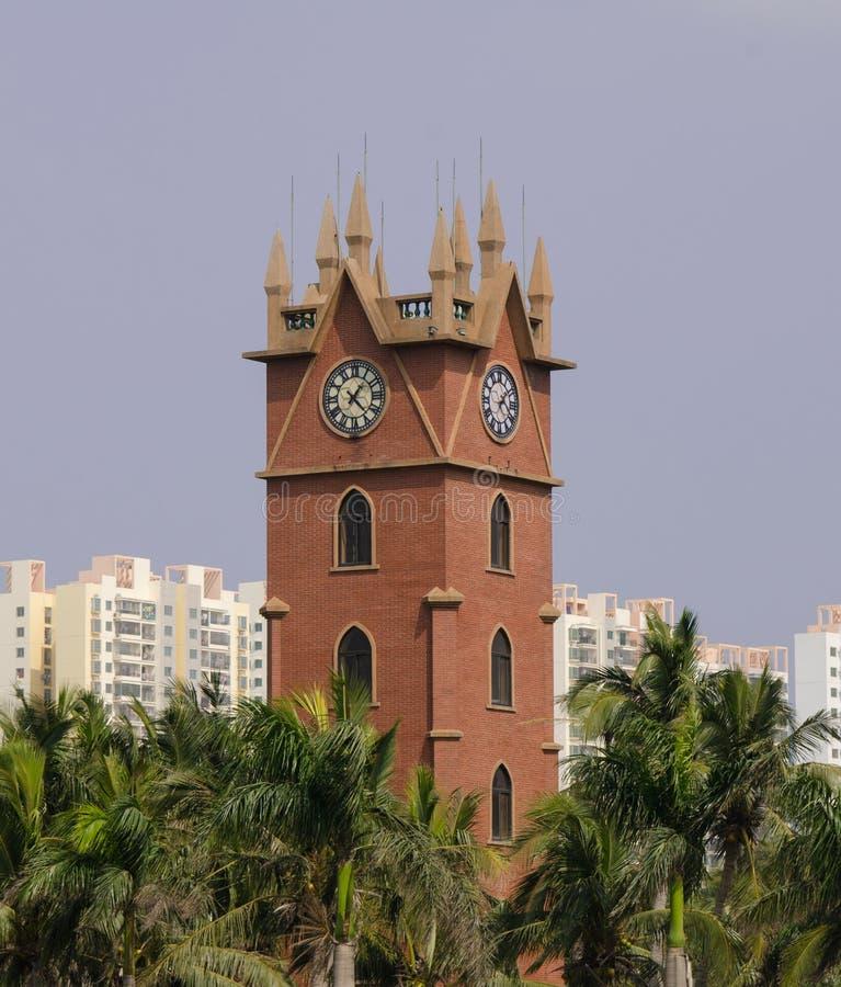 Glockenturm Haikous lizenzfreie stockbilder