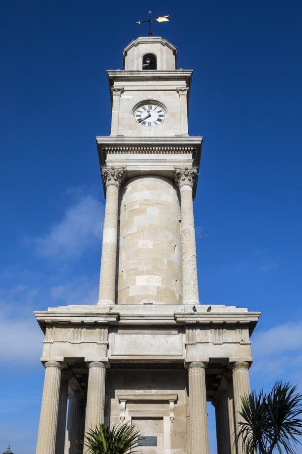 Glockenturm an Herne-Bucht in Kent stockfoto