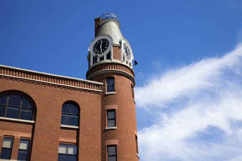 Glockenturm in Louisville lizenzfreie stockfotos
