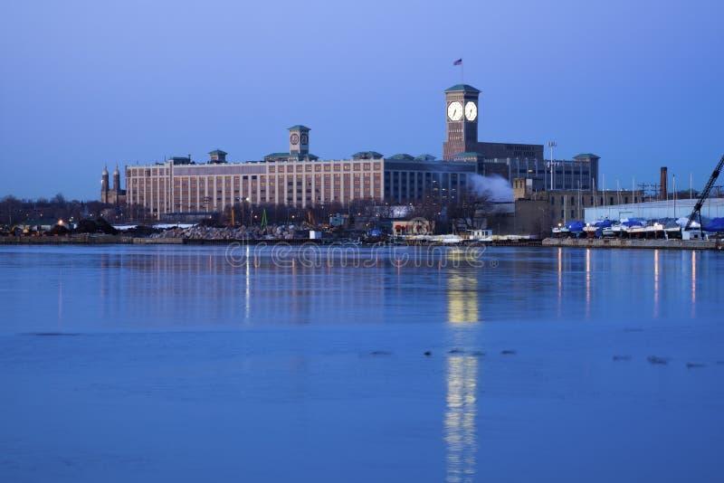 Glockenturm in Milwaukee lizenzfreies stockfoto