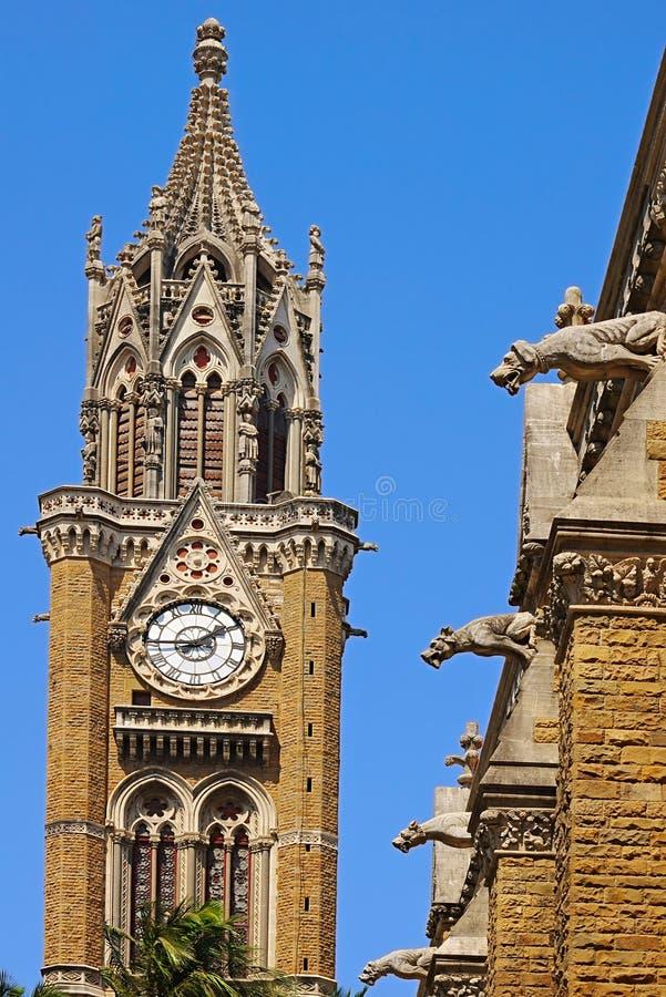 Glockenturm. Mumbai Universität stockfotografie