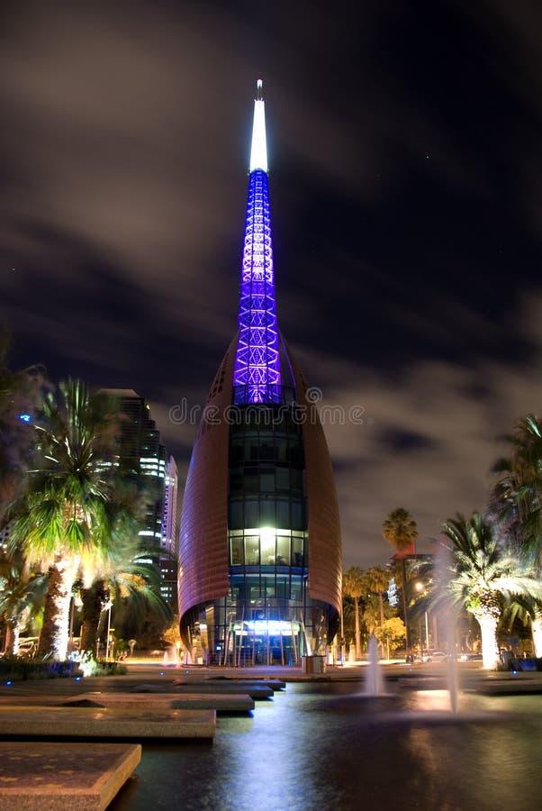 Glockenturm Perth-, Schwan Bell lizenzfreie stockbilder