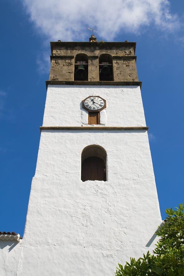 Glockenturm von Icod de los Vinos stockfoto