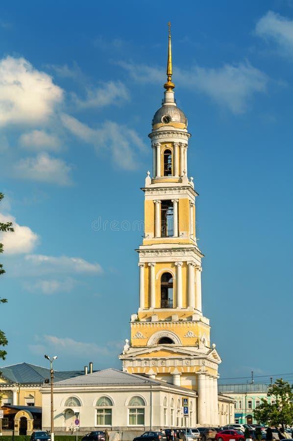 Glockenturm von John die Apostel-Kirche in Kolomna, Russland stockfoto