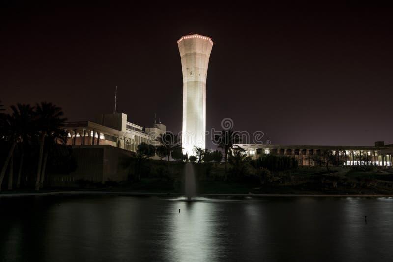 Glockenturm von KFUPM lizenzfreie stockfotos