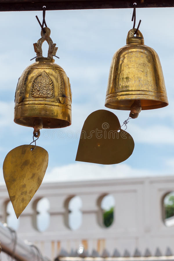 Free Gloden Bell Royalty Free Stock Image - 41360346