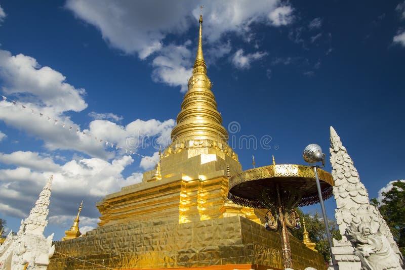 Gloden Pagoda royalty free stock photo
