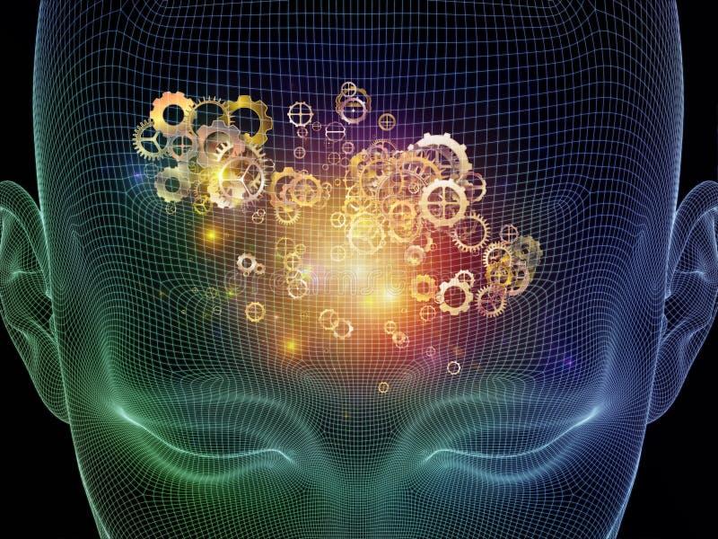 Gloed van Gedachte vector illustratie