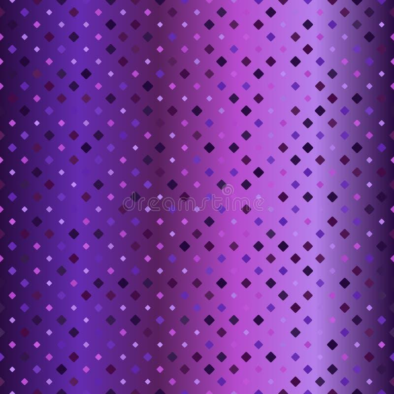 gloeiend diamantpatroon Naadloze vector royalty-vrije illustratie