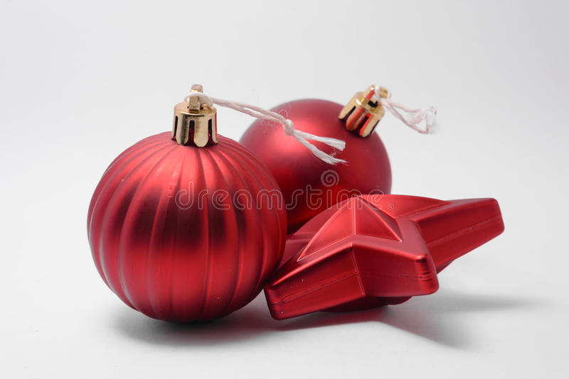 Gloeiend Kerstmisornament royalty-vrije stock foto