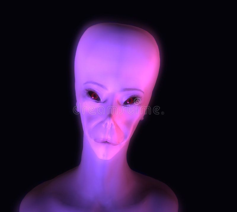 Gloeiende Vreemdeling vector illustratie