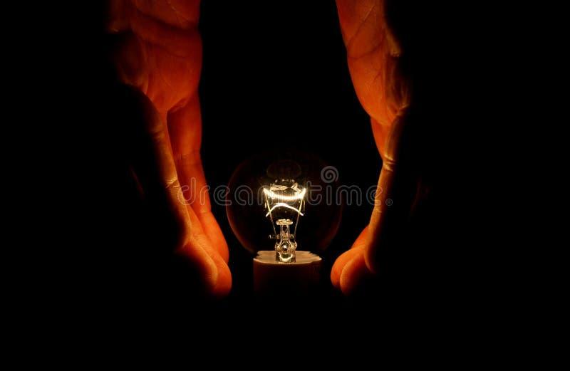 Gloeilamp royalty-vrije stock afbeelding
