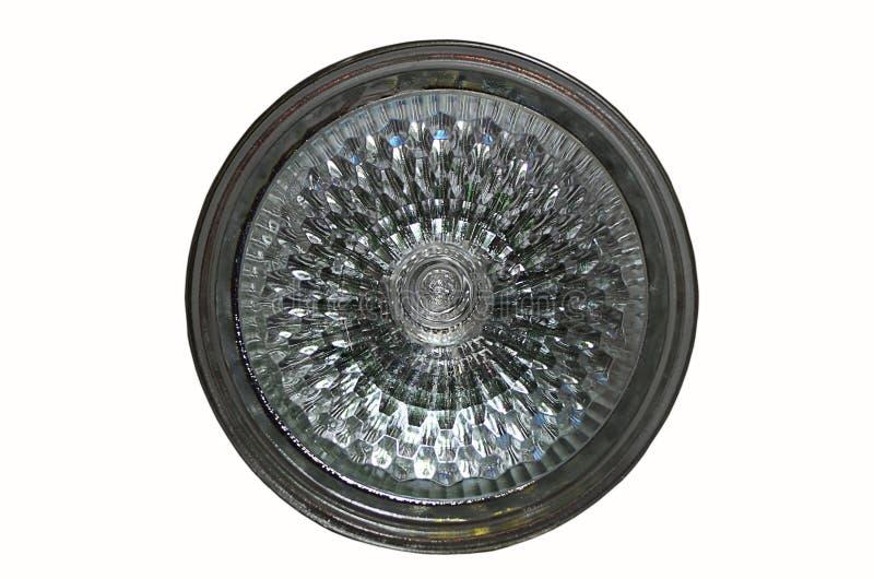 Gloeilamp in de lamp stock foto's