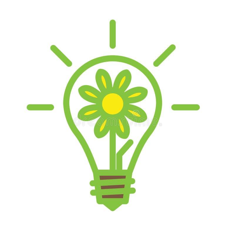 Gloeilampenlamp royalty-vrije illustratie
