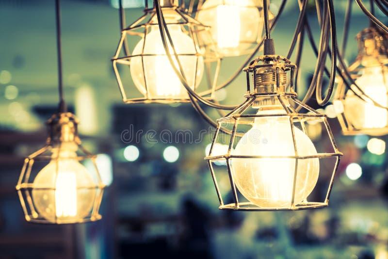 Gloeilampenlamp royalty-vrije stock afbeeldingen