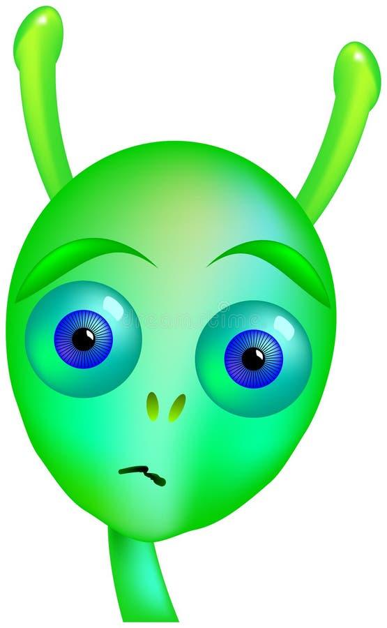 Download Gloomy Alien stock vector. Image of face, monster, area - 33027681