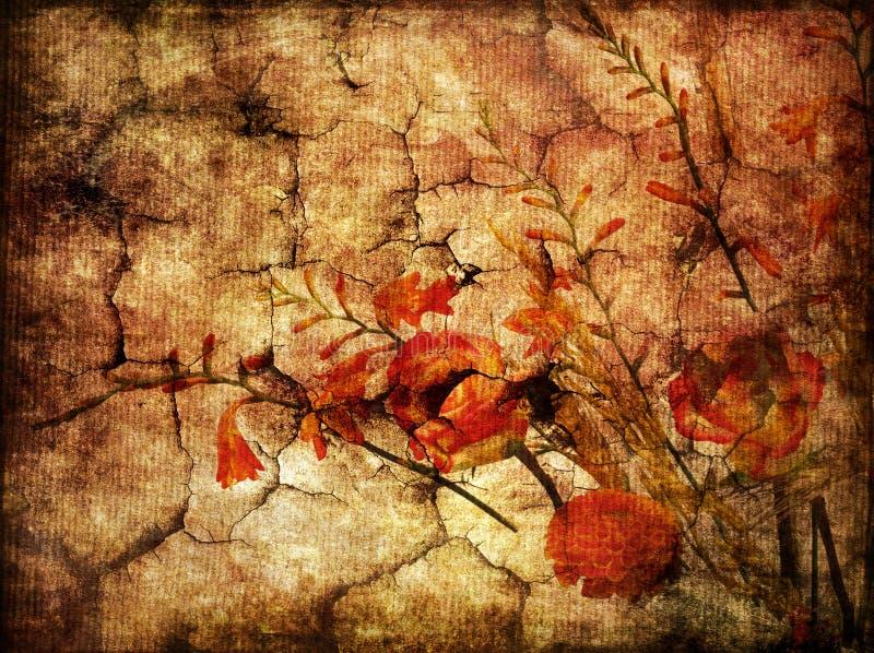 Download Gloomy autumn stock illustration. Image of design, background - 6288766