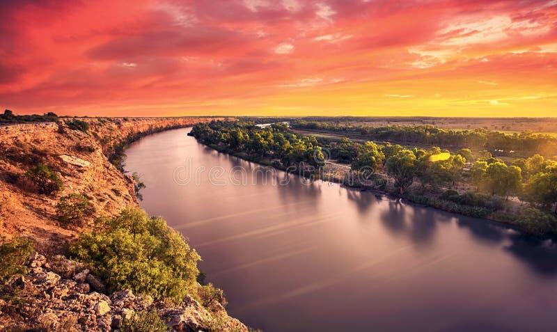 Gloria del fiume fotografie stock libere da diritti