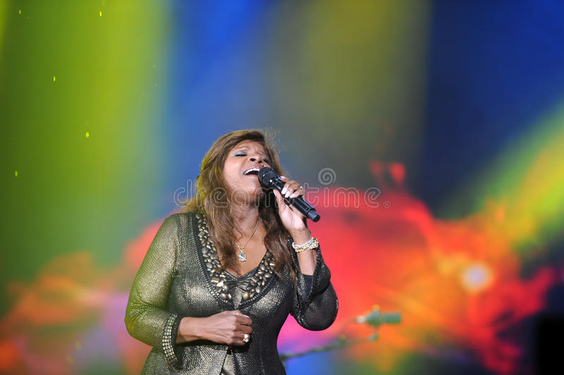 Gloria Gaynor royalty-vrije stock foto's