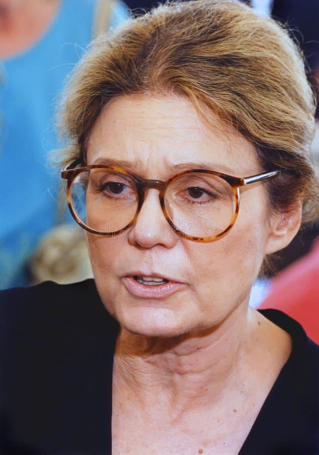 Gloria Steinem foto de stock