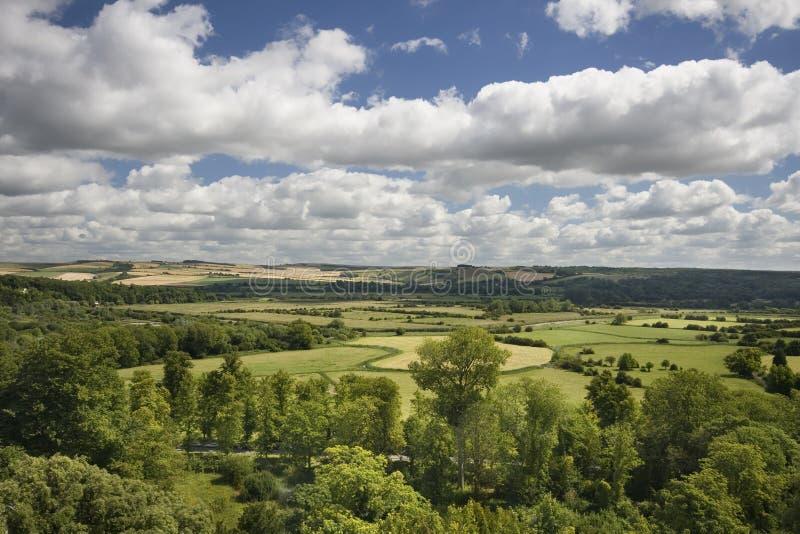 Glorierijk Engels Platteland stock afbeeldingen