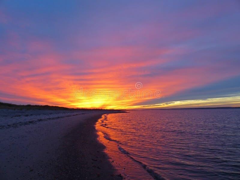 Glorierijke Zonsondergang stock afbeeldingen