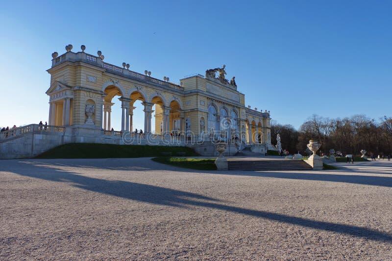 Glorieta w Schonbrunn pałac ogródzie zdjęcia stock