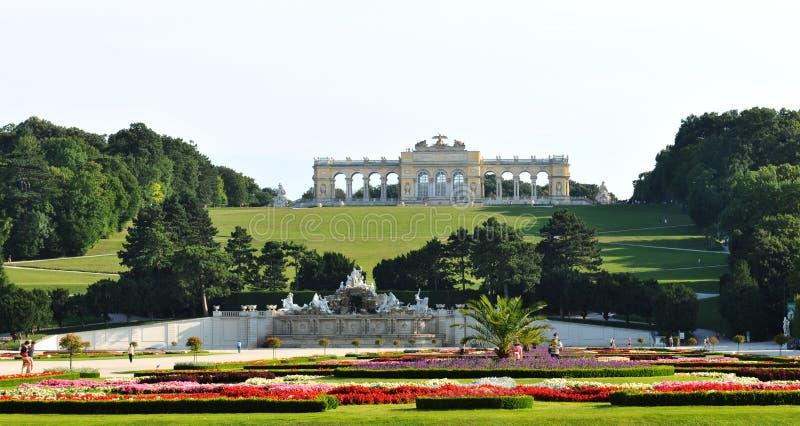 gloriette宫殿schonbrunn维也纳 库存照片