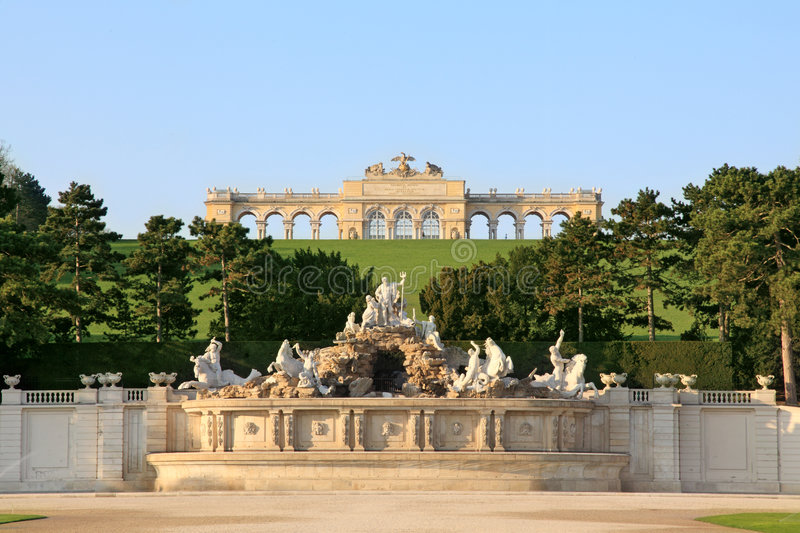 gloriette image stock