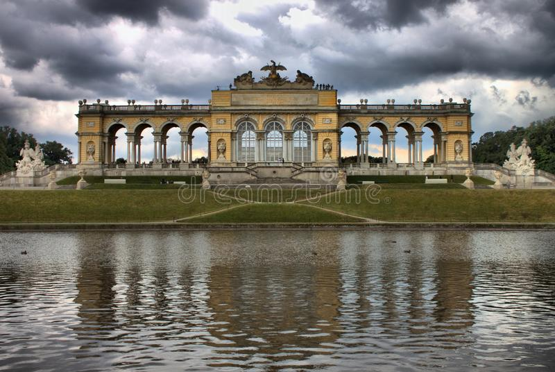 Gloriette au palais de Schonbrunn photos libres de droits