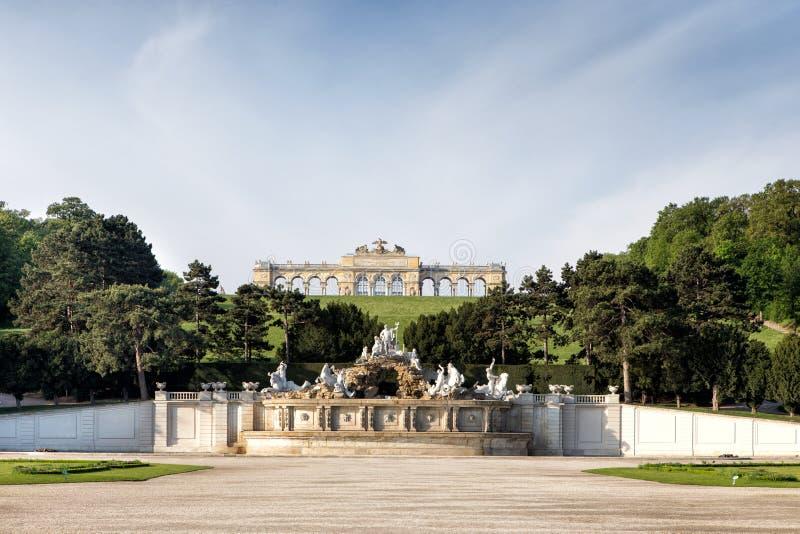 Gloriette-Pavillon in Wien lizenzfreie stockfotografie