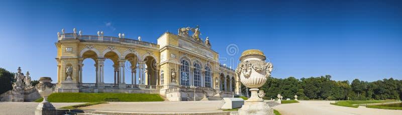 Gloriette Viena imagen de archivo