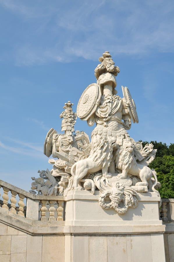 Gloriette, Vienne. Groupe architectural image stock