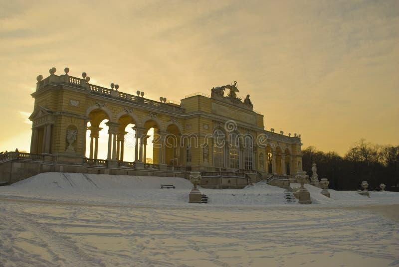 glorietteslottschoenbrunn vienna royaltyfri bild