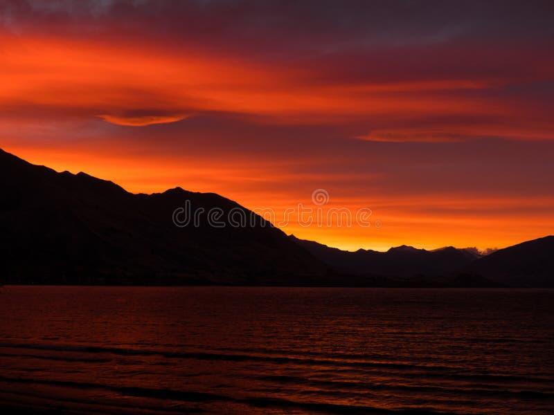 Glorious Orange Sunset Free Public Domain Cc0 Image