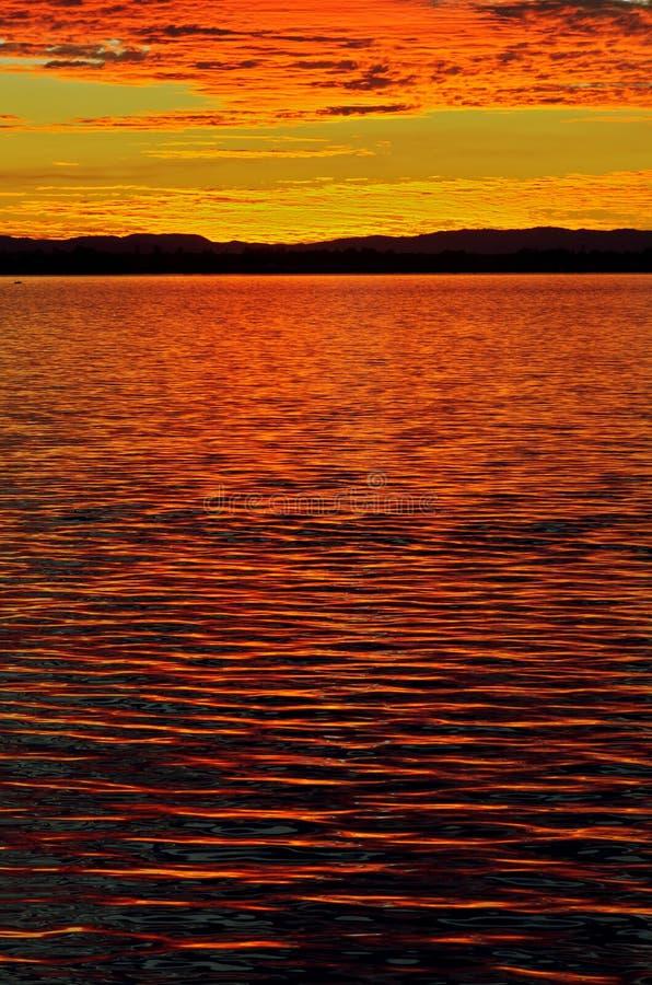 Download Glorious sunset stock photo. Image of orange, sunset - 25928724