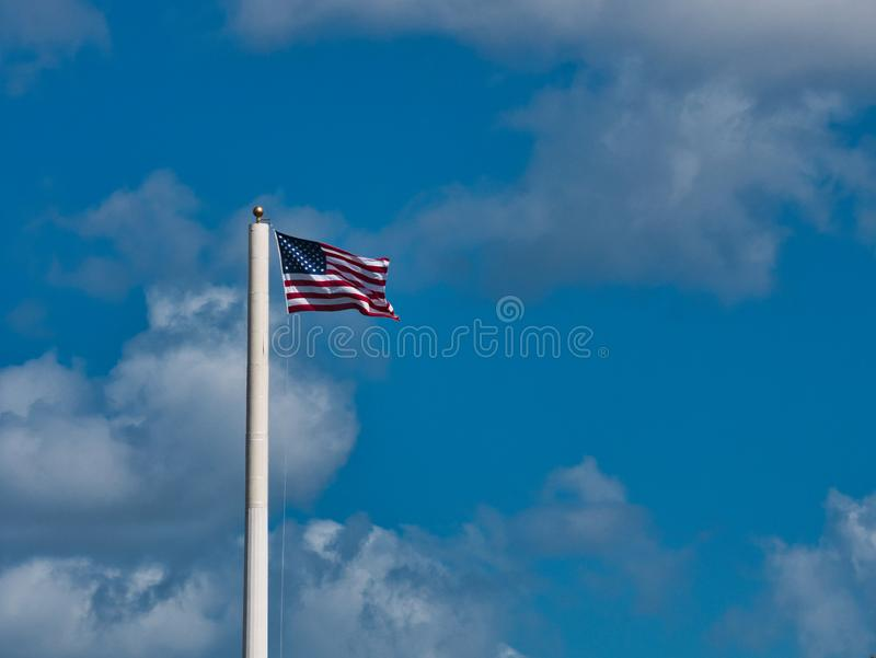 Glory Flying idosa no vento foto de stock royalty free