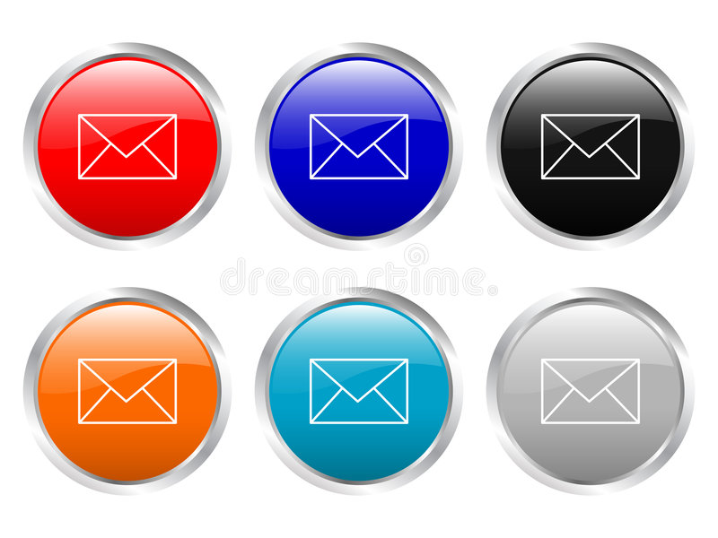 Glossy buttons mail