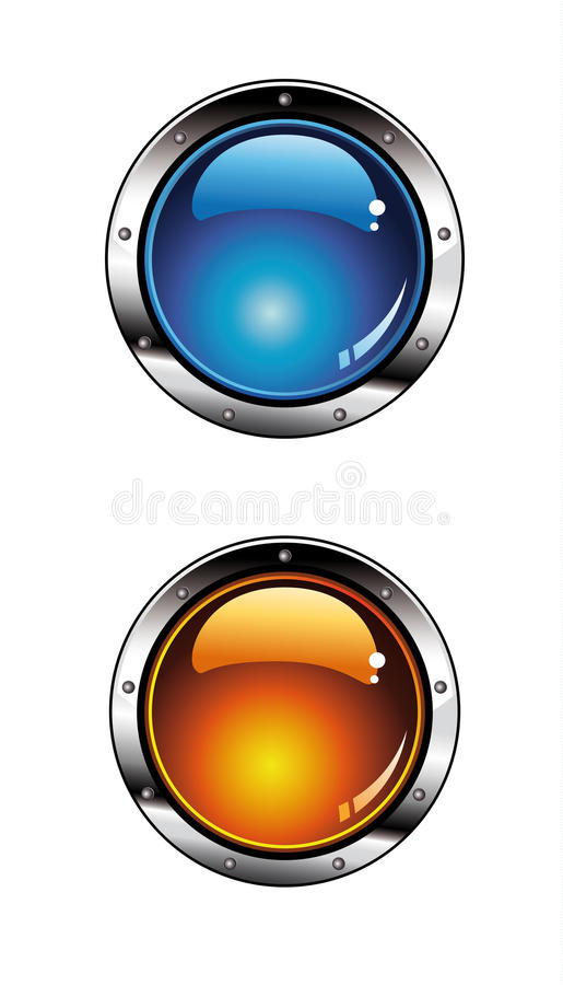 Glossy Buttons for Website Graphics