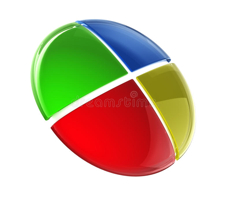 Glossy Colorful Button Royalty Free Stock Images