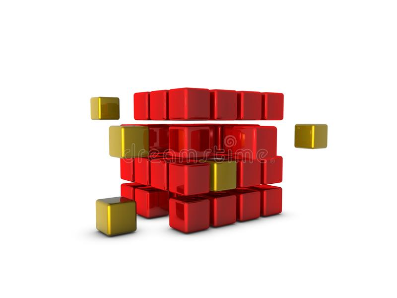 Download Glossy Cubes Stock Image - Image: 14768221