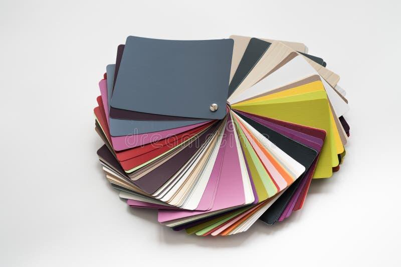 Glossy PVC plastic cards royalty free stock photo