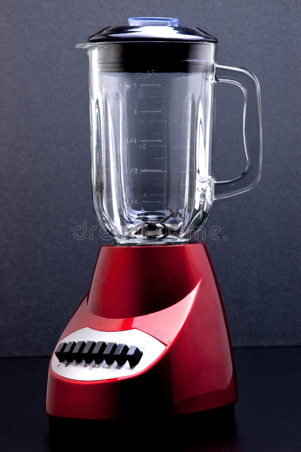 Glossy Red Blender royalty free stock photography