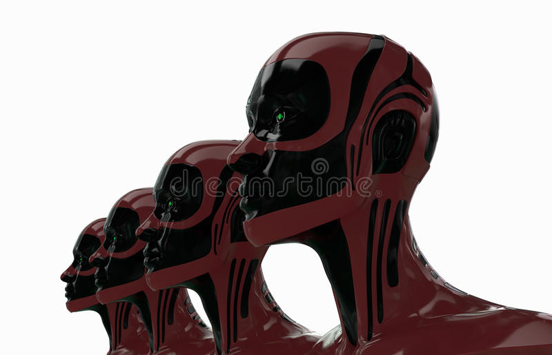 Download Glossy Robots Stock Images - Image: 18080414