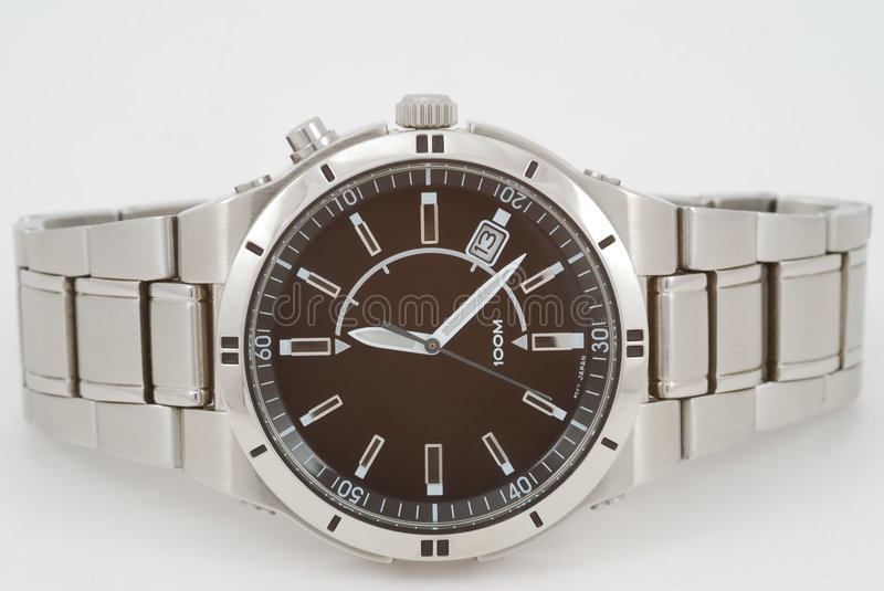 Glossy Watch royalty free stock photography