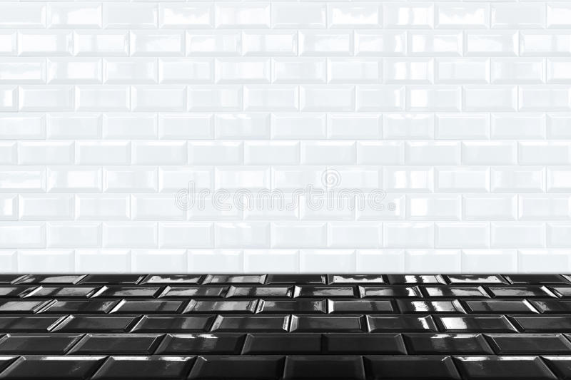 download glossy white ceramic brick tile wall and black floor stock photo image of black and white ceramic tile floor k84 tile